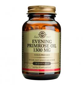 Solgar Evening Primrose Oil 1300mg Συμπλήρωμα Διατροφής Ιδανικό για Γυναίκες για Αντιμετώπιση των Συμπτωμάτων κατά τις Περιόδους της Έμμηνου Ρύσης & της Εμμηνόπαυσης, 30softgels