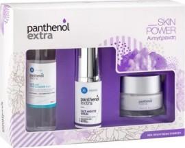 Panthenol Extra Promo Face & Eye Cream Αντιρυτιδική Κρέμα Προσώπου & Ματιών 50ml & Face & Eye Serum Αντιρυτιδικός Ορός Προσώπου & Ματιών 30ml & Micellar True Cleanser 3in1 Καθαριστικό Νερό 100ml