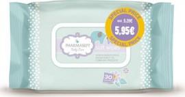 Pharmasept Promo Baby Soft Wipes Απαλά Μαντηλάκια Καθαρισμού για Σώμα & Πρόσωπο, 2x30τμχ
