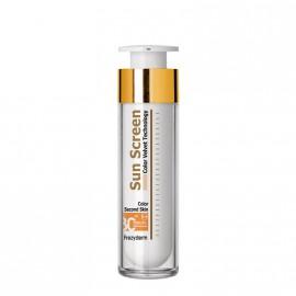 Frezyderm Sun Screen Color Velvet Face Cream SPF30 Αντηλιακό Προσώπου με Χρώμα, 50ml