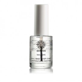 Garden Nail Care 2 in 1 Base and Top Coat Preparation & Finishing, Διάφανο Βερνίκι ,10ml