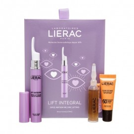 Lierac Σετ Ανορθωτικός Ορός Για Μάτια & Βλέφαρα Serum Lift Integral 15 ml+ Ορός Αντιγήρανσης Cica Filler Serum 10ml+ Αντηλιακό Προσώπου SPF50 Sunissime 10ml Lierac