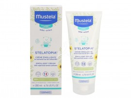 Mustela AT Stelatopia Emollient Cream, Βρεφική-Παιδική Μαλακτική Κρέμα Σώματος για Ατοπική Δερματίτιδα 200ml