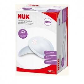 NUK Επιθέματα Στήθους Ultra Dry Comfort 60τμχ (10.252.081)