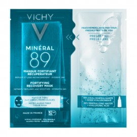 Vichy Mineral 89 Fortifying Instant Recovery Mask, Μάσκα Ενδυνάμωσης & Επανόρθωσης 29gr