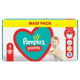 Pampers Pants Jumbo Pack Πάνες Βρακάκι No4 (9-15kg), 48 Πάνες Βρακάκι