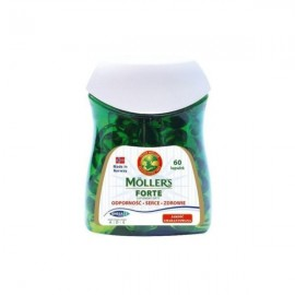 Mollers Forte Μαλακές Κάψουλες Μουρουνέλαιο Mollers 60Κάψουλες