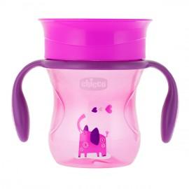 Chicco Perfect Cup Κυπελλο 12Μ+ Ροζ, 200ml, 1τμχ