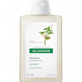 Klorane Almond Milk Volumising Shampoo Σαμπουάν με γαλάκτωμα Αμυγδάλου για όγκο, απαλότητα & λάμψη, 200ml
