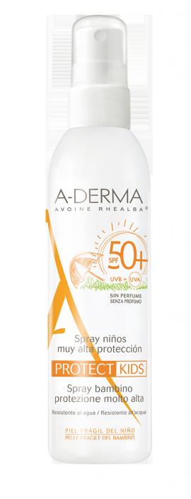 ADERMA PROTECT KIDS Spray enfant SPF50+ 200ml