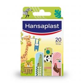 Hansaplast Kids Animals Επιθέματα Παιδικά Αυτοκόλλητα Με Σχέδιο Ζώακια 20τμχ,