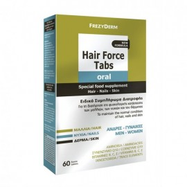 Frezyderm Hair Force Tabs Oral  (Ειδικό συμπλήρωμα διατροφής για μαλλιά, δέρμα, νύχια) , 60tabs