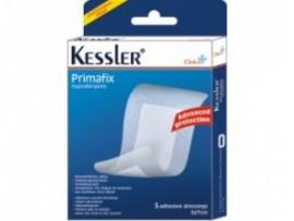 Kessler Αυτοκόλλητες Γάζες Primafix 10x10cm, 5 Γάζες