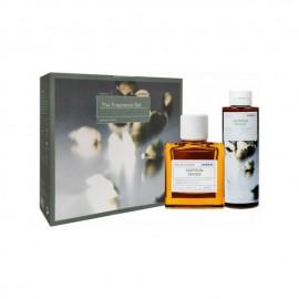 Korres The Fragrance Set Saffron Spices Eau De Toilette Ανδρικό Άρωμα, 50ml & Saffron Spices Αρωματικό Αφρόλουτρο Με Ενυδατικούς Παράγοντες, 250ml