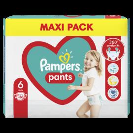 Pampers Pants Jumbo Pack Πάνες Βρακάκι No6 (15kg+), 36 Πάνες Βρακάκι