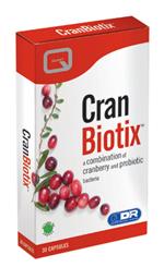 Quest Cran Biotix Συμπλήρωμα Διατροφής για το Πεπτικό και το Ουροποιητικό Σύστημα, 30caps