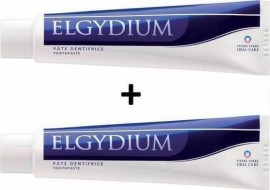 Elgydium Antiplaque Jumbo Οδοντόκρεμα Κατά της Οδοντικής Πλάκας, Promo Pack 2 τεμαχίων x 100 ml