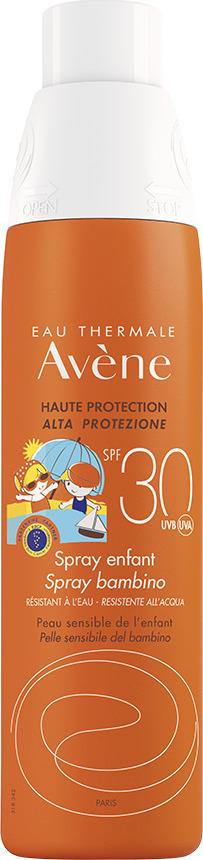 Avene Solaire Enfant Spray Open & Stop SPF30+, Παιδικό Αντιηλιακό Σπρέι Χωρίς Άρωμα, 200ml