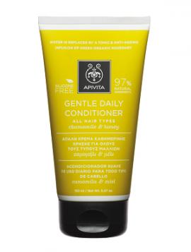 Apivita Απαλή Κρέμα Καθημερινής Χρήσης για Όλους τους Τύπους Μαλλιών Χαμομήλι & Μέλι, Genthle Daily Conditioner Chamomile & Honey , 150ml