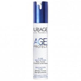Uriage Age Protect Multi-Action Fluid Cream, Αντιρυτιδική Κρέμα Πολλαπλών Δράσεων για Κανονικές/Μεικτές Επιδερμίδες 40ml