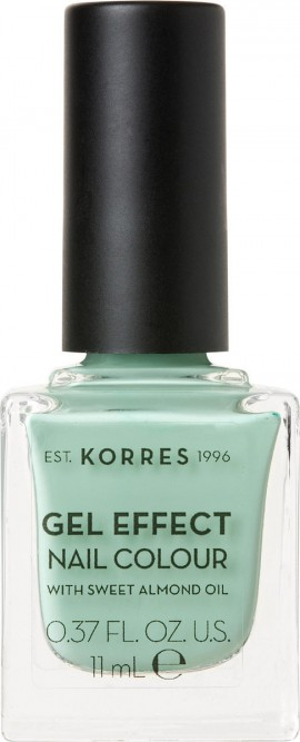 Korres Gel Effect Nail Colour 35 Mint Green 11ml