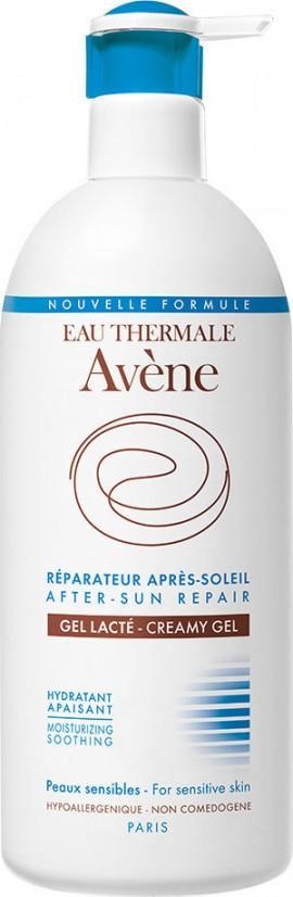 Avene Solaire Reparateur Gel Apres - After Sun Creamy Gel, Επανορθωτικό Κρεμώδες Τζελ για μετά τον Ήλιο, 400ml