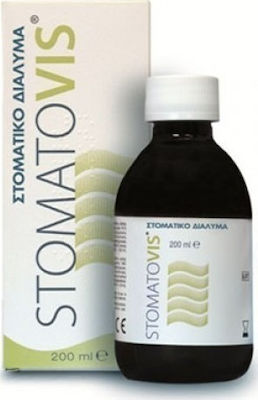 Pharmaq Stomatovis Mouthwash Αντιμικροβιακό Στοματικό Διάλυμα, 200 ml