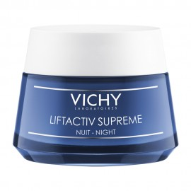 Vichy Liftactiv Ενισχυμένη Αντιρυτιδική και Συσφικτική φροντίδα Νύχτας, Αποτελεσμα lifting Μεγάλης Διάρκειας, 50ml