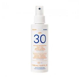 Korres Yoghurt Sunscreen Spray Body & Face Αντηλιακό Γαλάκτωμα Spray Σώματος & Προσώπου SPF30, 150ml