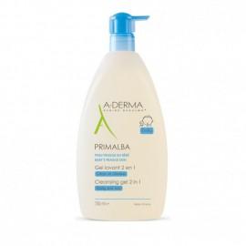 A-Derma Primalba Gel Lavant 2 in 1 Τζελ Καθαρισμού για το Δέρμα & τα Μαλλιά του Μωρού, 750ml