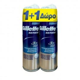 Gillette Series Aφρός Ξυρίσματος 250ml 1+1 ΔΩΡΟ