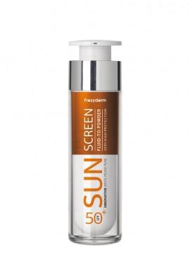 Frezyderm Sun Screen Vitamin D Fluid to Powder SPF50+ 50ml Αντηλιακό Προσώπου με Αίσθηση Πούδρας