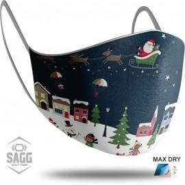 Unisex Μάσκα Προστασίας Christmas, SAGG