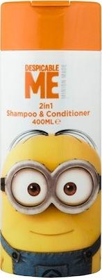 Corsair Toiletries Despicable Me Minion 2 in 1 Shampoo & Conditioner για Παιδιά, 400ml