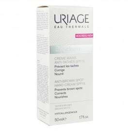 Uriage Depiderm Anti-Brown Spot Hand Cream SPF15 Θρεπτική & Προστατευτική Κρέμα Χεριών κατά των κηλίδων, 50ml