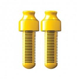 Bobble Ανταλλακτικό Φίλτρο Νερού για Μπουκάλι Κίτρινο, 2τμχ