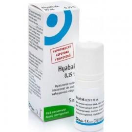 Hyabak 0.15% Υαλουρονικό νάτριο, 5ml