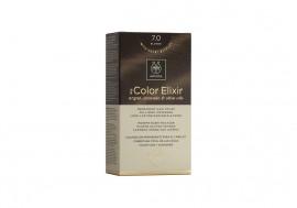 Apivita Βαφή Μαλλιών 7.0 My Color Elixir kit Μόνιμη ΞΑΝΘΟ