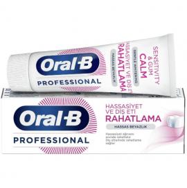 Oral-B Οδοντόκρεμα Professional Sensitivity & Gum Calm Gentle Whitening, 75ml