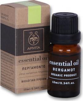 Apivita Essential Oil Bergamot Αιθέριο έλαιο Περγαμόντο, 10ml