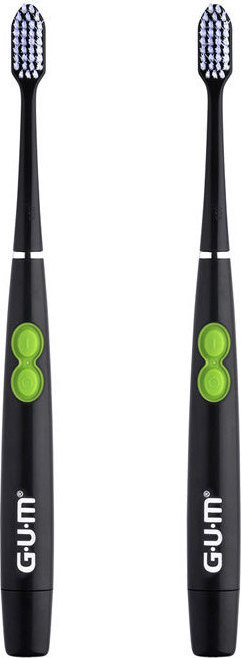 Gum ActiVital Sonic 4100 Soft Οδοντόβουρτσα Mε Μπαταρία Μαύρη 1 τεμάχιο