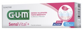 GUM 1722 SensiVital+ Dual Action Touthpaste 75ml