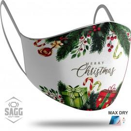 Unisex Μάσκα Προστασίας Merry Christmas 2, SAGG