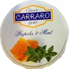 Carraro Propolis & Mint Καραμέλες για το Λαιμό με Πρόπολη & Μέντα, 40gr