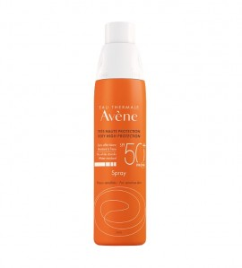 Avene Spray SPF50+ Αντιηλιακό Προσώπου & Σώματος σε Μορφή Σπρέι για το Ευαίσθητο Δέρμα, 200ml