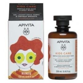 Apivita Kids Care Σαμπουάν και Αφρόλουτρο με Μανταρίνι και Μέλι, Hair & Body Wash with Tangerine & Honey, 250ml