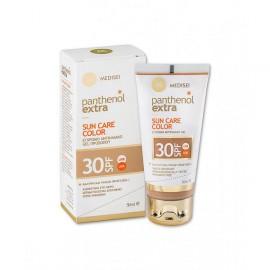 Medisei Panthenol Extra Sun Care Color Tinted Sunscreen Face Gel SPF30 50ml