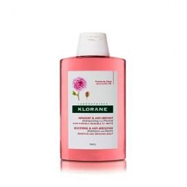 Klorane Shampoo Peony Σαμπουάν με Παιώνια για το Ερεθισμένο & Ευαίσθητο Τριχωτό της Κεφαλής, 200ml