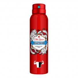 Old Spice Wolfthorn Deodorant Body Spray Αποσμητικό 150ml