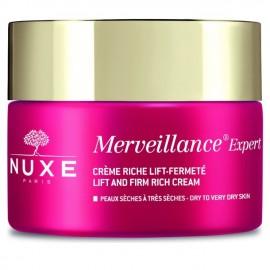 Nuxe Merveillance expert Creme riche lift-fermete Κρέμα ημέρας πλούσιας υφής για lifting και σύσφιξη, για ξηρή επιδερμίδα, 50ml